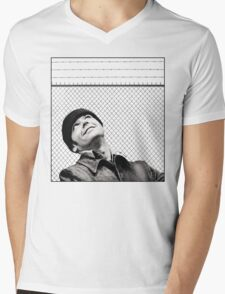 McMurphy from One Flew Over the Cuckoo's Nest Mens V-Neck T-Shirt