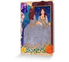 Cinderella Greeting Card
