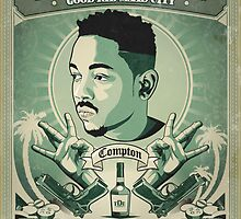 Kendrick Lamar by Tilp