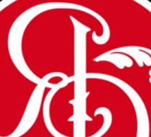 Red Logo Hoodie  Sticker