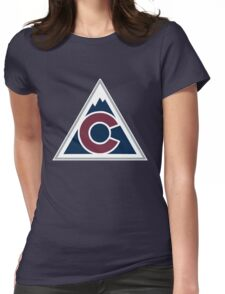 colorado avalanche Womens Fitted T-Shirt
