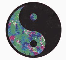 Green Yin Yang One Piece - Short Sleeve