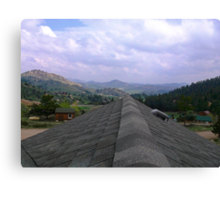 Rooftop in Livermore Co Canvas Print