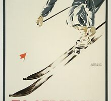 To Germany for Winter Sports by Vintagee