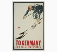 To Germany for Winter Sports T-Shirt