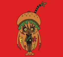 Tangerine Burger by Lolita Tequila Baby Tee