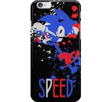 Sonic - SUPER SMASH BROTHERS iPhone Case/Skin