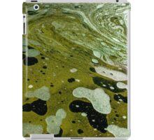 The magic water, green iPad Case/Skin