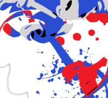 Sonic - SUPER SMASH BROTHERS Sticker