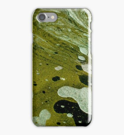 The magic water, green iPhone Case/Skin