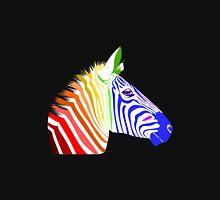Zebra, Rainbow Zebra Unisex T-Shirt