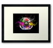 It's Morphin Time - Go Go Power Rangers Framed Print