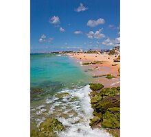 carcavelos beach paradise Photographic Print