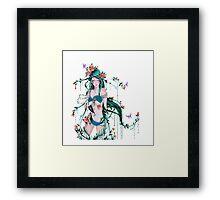 Mother Nature Forest Goddess Framed Print