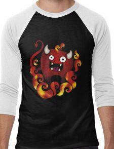 Lunatik Demon Men's Baseball ¾ T-Shirt