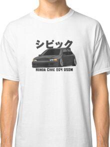 Honda Civic Hatchback on DropMode (black) Classic T-Shirt