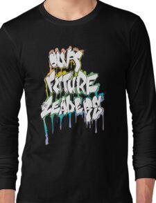 Our Future Leaders Graffiti Rainbow Long Sleeve T-Shirt