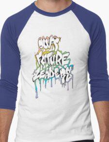Our Future Leaders Graffiti Rainbow Men's Baseball ¾ T-Shirt