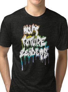 Our Future Leaders Graffiti Rainbow Tri-blend T-Shirt