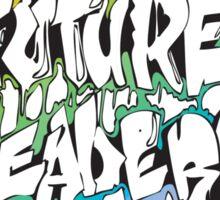 Our Future Leaders Graffiti Rainbow Sticker