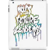 Our Future Leaders Graffiti Rainbow iPad Case/Skin