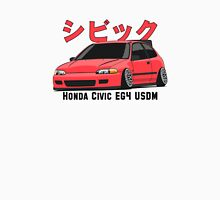 Honda Civic Hatchback on DropMode (pink) Unisex T-Shirt