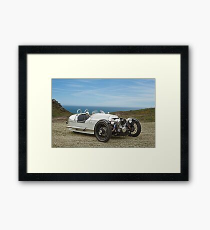 2012 Morgan 3 Wheeler Framed Print