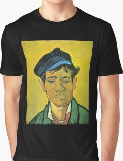 'Man with a Cap' by Vincent Van Gogh (Reproduction) Graphic T-Shirt