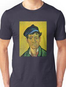 'Man with a Cap' by Vincent Van Gogh (Reproduction) Unisex T-Shirt