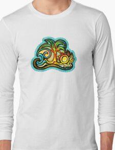 Rio de Janeiro, Brazil, Waves, Palm, Sun T-Shirt