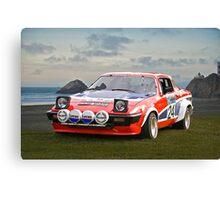 1976 Triumph TR7 V8 Rally Car Canvas Print