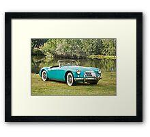 1958 MGA Roadster Framed Print