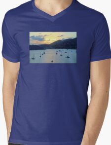 Sun Had Set in St. Thomas Mens V-Neck T-Shirt