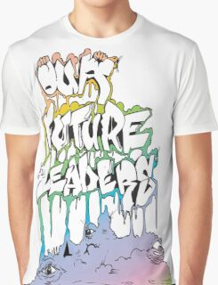 Our Future Leaders Rainbow Eyes Graphic T-Shirt