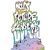 Our Future Leaders Rainbow Eyes Photographic Print