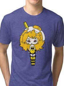 Lemonade Yolk by Lolita Tequila Tri-blend T-Shirt