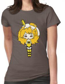 Lemonade Yolk by Lolita Tequila Womens Fitted T-Shirt