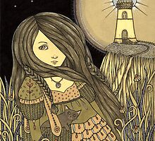 Lighthouse Keeper by Anita Inverarity