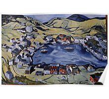 Red Island Newfoundland Poster