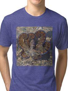 Octopus flower, WA Tri-blend T-Shirt