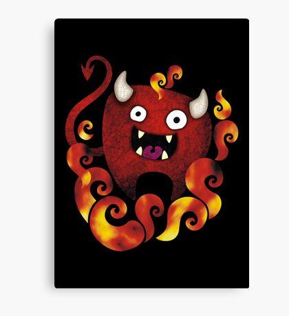 Lunatik Demon Canvas Print