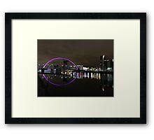 Arc bridge Framed Print