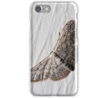 small white camouflaged butterfly iPhone Case/Skin