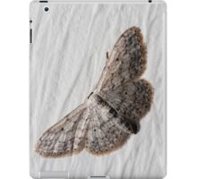 small white camouflaged butterfly iPad Case/Skin