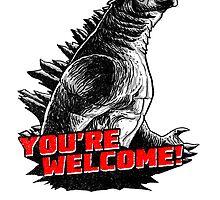 Gojira '14: You're welcome! by Gimetzco