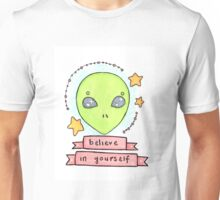 I want (you) to believe Unisex T-Shirt