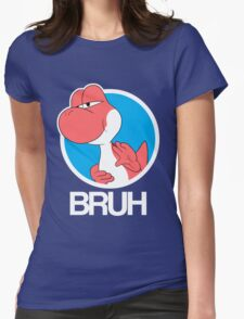 Red Yoshi Womens Fitted T-Shirt