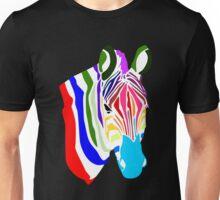 Zebra; Regenbogen Zebra Unisex T-Shirt