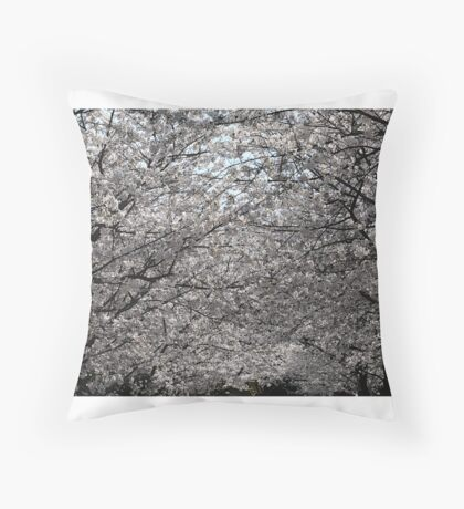 Cherry Blossom - Japan Throw Pillow