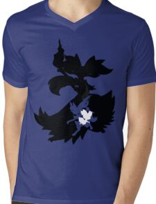 Fennekin - Braixen - Delphox ( Evolution Line ) Mens V-Neck T-Shirt